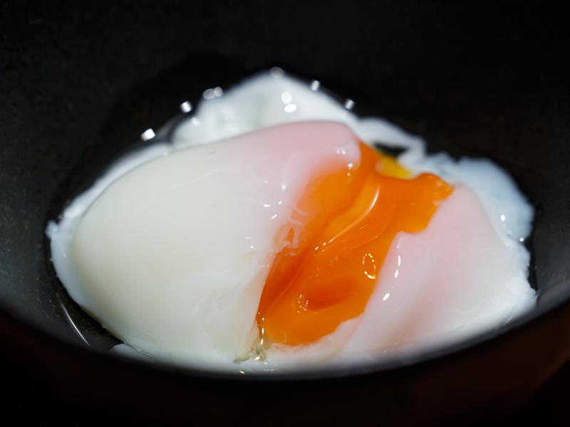 低温 調理 温泉 卵