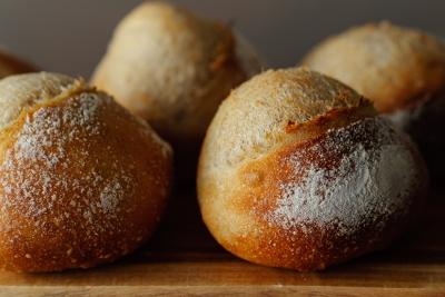 銅板で焼いたハードパン
